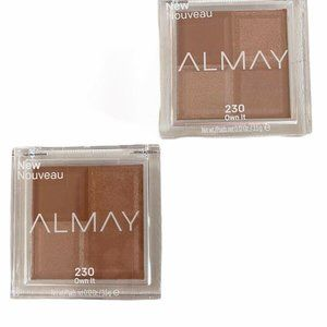 Lot of 2 Almay Squad Eyeshadow 230 You Own It